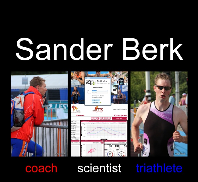 Sander Berk, coach - scientist - triathlete